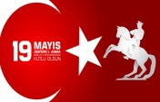 Happy 19 May Commemoration of Atatürk, Youth and Sports Day